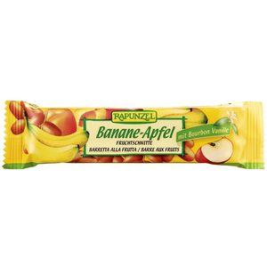 Baton cu fructe banana si măr bio Rapunzel
