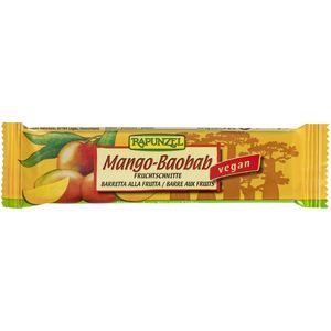 Baton de fructe cu mango si baobab Rapunzel