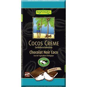 Ciocolata amaruie cu umplutura de crema de cocos Rapunzel