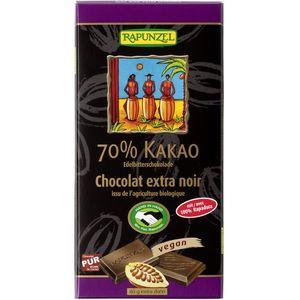 Ciocolata bio amăruie 70% cacao hih Rapunzel
