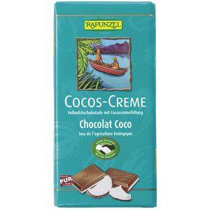 Ciocolata bio cu cremă de cocos hih Rapunzel