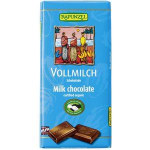 Ciocolata bio lapte integral hih Rapunzel