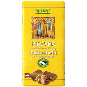 Ciocolata bio nirwana cu praline hih Rapunzel