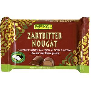 Ciocolata bio nougat amaruie Rapunzel