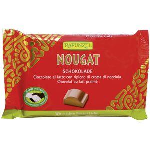 Ciocolata bio nougat cristallino hih Rapunzel
