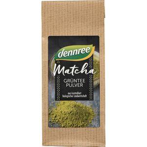 Matcha pulbere de ceai verde Dennree