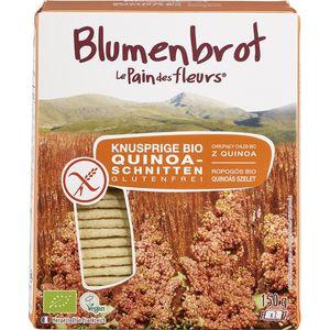 Paine bio cu quinoa fara gluten Blumenbrot