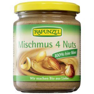 Pasta bio amestec 4 feluri de nucă Rapunzel