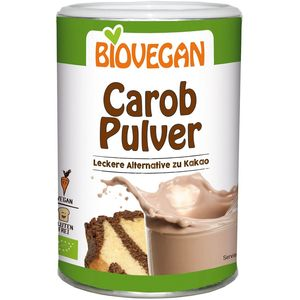 Pudra carob fara gluten Biovegan