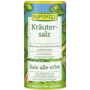 Sare de condimentat cu 15% ierburi şi legume Rapunzel