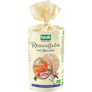 Vafe bio din orez integral cu sare fara gluten Byodo