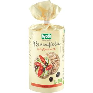 Vafe din orez si amarant fara gluten Byodo