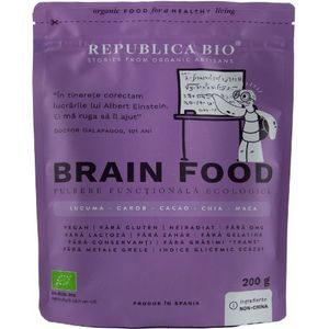 Brain food, pulbere functionala ecologica Republica bio