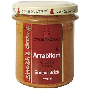 Crema tartinabila vegetala arrabitom cu arrabiata si tomate Zwergenwiese