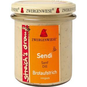 Crema tartinabila vegetala sendi cu mustar si marar fara gluten Zwergenwiese