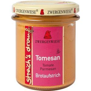 Crema tartinabila vegetala tomesan cu tomate si parmezan Zwergenwiese
