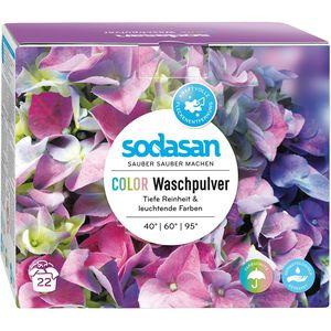 Detergent bio pudra pentru rufe colorate Sodasan