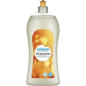 Detergent lichid de vase balsam cu portocala ecologic Sodasan