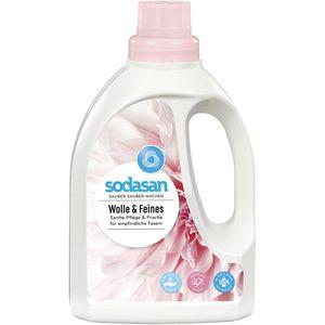 Detergent lichid pentru lana si rufe delicate Sodasan