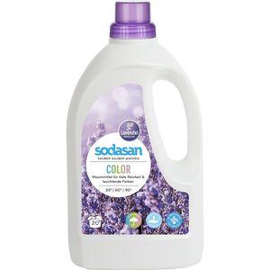Detergent lichid pentru rufe colorate cu lavanda Sodasan