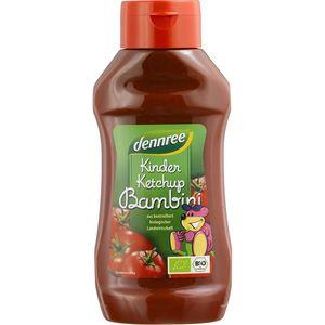 Ketchup pentru copii indulcit cu nectar de agave Dennree