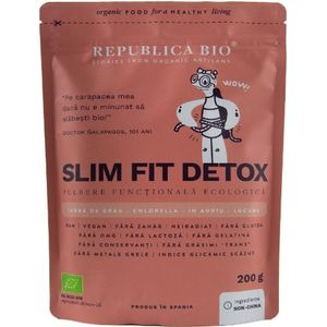 Slim fit detox, pulbere functionala ecologica Republica bio