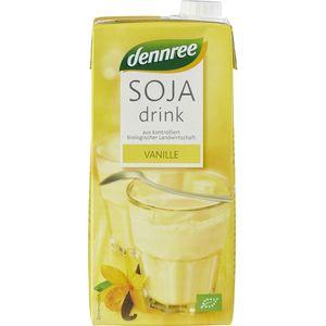 Bautura de soia bio cu vanilie Dennree