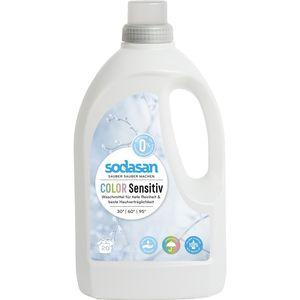 Detergent lichid bio pentru rufe colorate senzitiv Sodasan