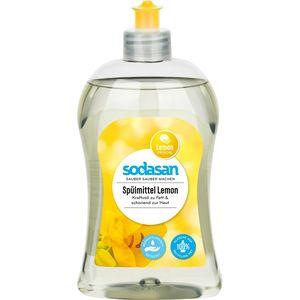 Detergent lichid de vase cu lamaie Sodasan