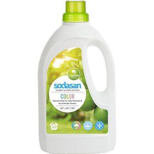 Detergent lichid pentru rufe colorate Sodasan