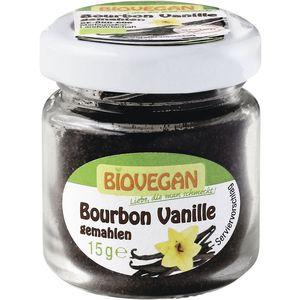 Pudra de bourbon vanilie ecologica Biovegan