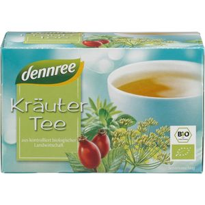 Ceai bio din plante Dennree