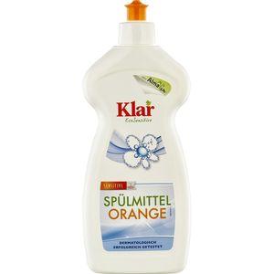 Detergent lichid sensitiv cu portocala pentru vase Klar