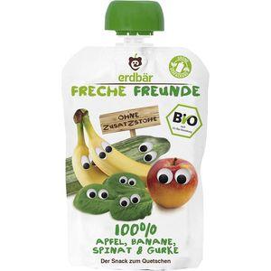 Piure ecologic de mere, spanac, banane si castravete Erdbar Freunde