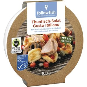 Salata cu ton el gusto italiano Followfish