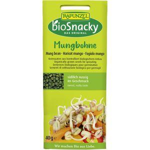 Seminte de fasole mung pentru germinat Rapunzel BioSnacky