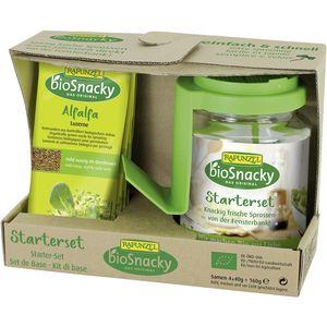 Set starter pentru germinat bio Rapunzel BioSnacky