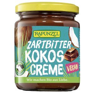 Crema de ciocolata amaruie cu cocos Rapunzel