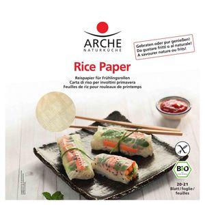 Foi de orez pentru rulouri de primavara 20 buc Arche