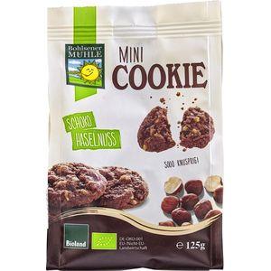 Mini biscuiti cu ciocolata si alune bio Bohlsener Muehle