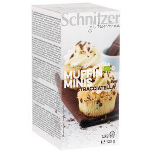 Mini muffins bio cu stracciatella fara gluten Schnitzer