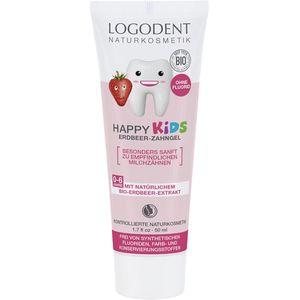 Pasta de dinti gel cu capsuni pentru copii Logodent