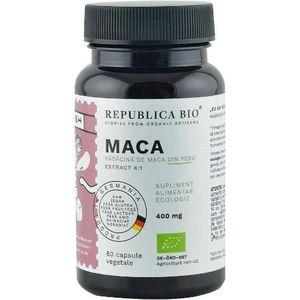 Maca bio extract 4:1 60 capsule Republica bio