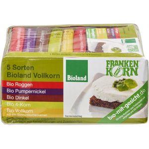 Set 5 sortimente de paine bio FrankenKorn
