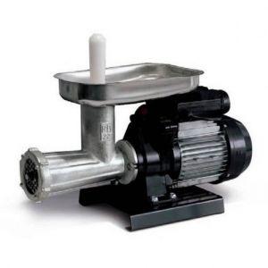 Mașină de tocat carne Reber 9500 N n.22, Putere 600W, Producție 70~120kg/h, Corp din fontă tratată, Pâlnie din inox 304, Găuri sită 8mm, Comutare înainte/înapoi