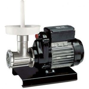 Mașină de tocat carne Reber 9502 N n.5, Putere 400W, Producție 30~50kg/h, Corp din fontă tratată, Găuri sită 6mm