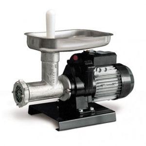 Mașină de tocat carne Reber 9501 N n.12, Putere 500W, Producție 50~90kg/h, Corp din fontă tratată, Pâlnie din inox 304, Găuri sită 6mm, 2 ștuțuri incluse
