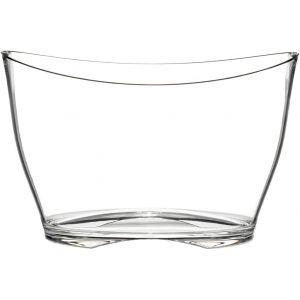 Frapiera Iceberg transparenta Premium pentru 6 sticle Vin/Sampanie