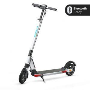 Trotineta electrica E-Twow GT 2020 SE , ALB, autonomie 50 km, viteza maxima 40 km/h,  Bluetooth