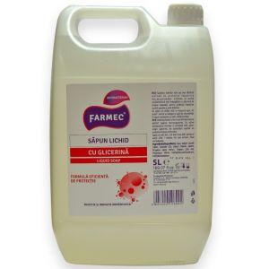 Farmec Sapun lichid cu glicerina cu efect antibacterian,  5 litri